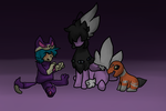 Tiny Heir and his pokemans by MephilesfanforSRB2