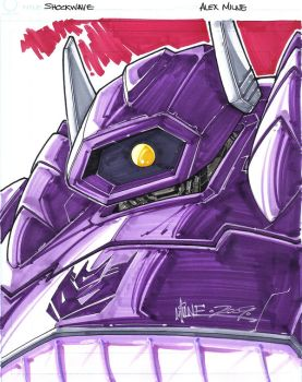 Shockwave,By Alex Milne by Minosayia