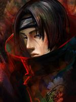 Itachi (portrait) by Kreo13