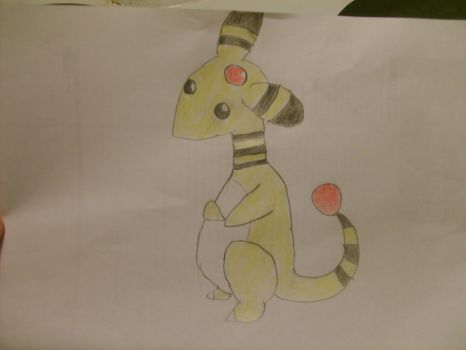 Ampharos by Golden-nightdragon