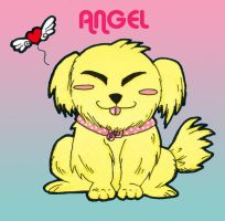 A dog Name Angel... by TaraGraphic