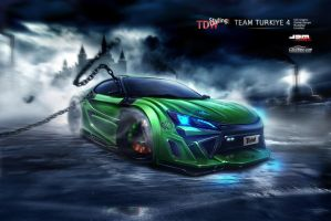 Scion FR-S front - WTBR4 2011 by EmreFast