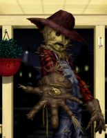 September Scarecrow by HarryBuddhaPalm