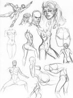 100 studies page 9 by igm-transformer