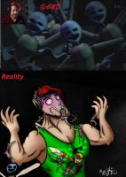 Markiplier: Fun time with Minireena's by Ro4le