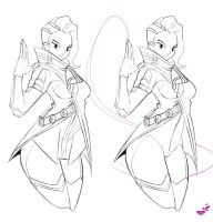 Sombra doodle by Mboogy