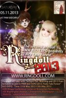 Ringdoll will join in the second annual PNW BJD EX by Ringdoll