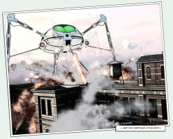And The Martians Attacked... by x-seraphin