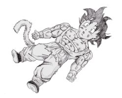 goku kid transform by kastrishis