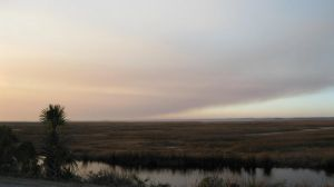 Sunset Over The Marsh by sugabear