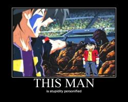 Beyblade: Motivational Poster - This Man by Hughesation