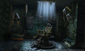 Sweeney Todd Torture cell by kidy-kat
