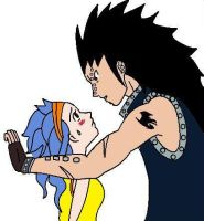 gajeel and levi by streetzdanzer