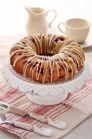 Raspberry bundt lemon cake by kupenska