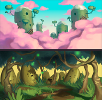 Landscape Comissions 2 by guillegarcia
