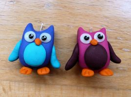 FIMO owls by ugnip