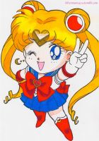 Chibi Sailor Moon by Mileyangel321