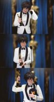 Big Hero 6: Hiro Accepting The Oscar by behindinfinity