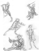 Pirate Guy Gestures by Manda-of-the-6