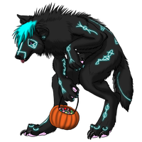 Aleka Rune Goes Trick or Treating by Crimsonpelt