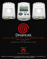 Dreamcast Memory Units by donkeybeatz