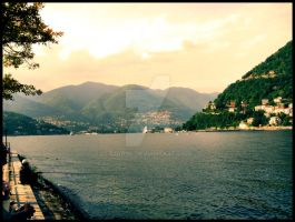 Lake Como, Como, Italy by Giadini