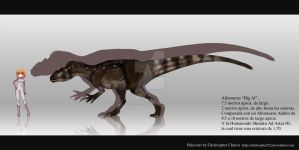 Allosaurus Big Al by Christopher252