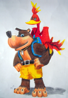 Banjo and Kazooie - Nuts+Bolts by RidgeTroopa