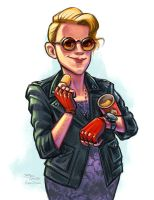 Holtzmann by danidraws
