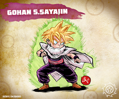 Son Gohan by MIRRORMASTER