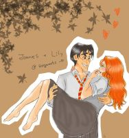 James and Lily_First love by asami-h