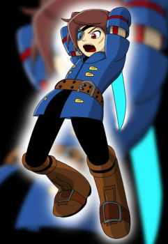 Vyse of the Blue Rogues by TheWax