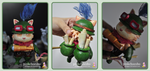 Teemo Sculpture Full Body by chinggay