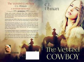 Book Cover Design for The Vetted Cowboy by FrinaArt