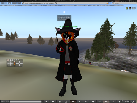 izzy the furry witch :) by legoshane