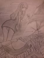 A Walk by Giantess-Beatrice