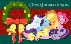 Nothing was Stirring not even a pony WP by AliceHumanSacrifice0