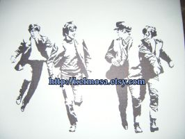 The Beatles by Kelmo