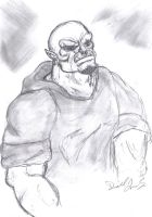 Call me Orc one more time.... by saintfighteraqua