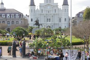The Life of Jackson Square by bansheelaughter