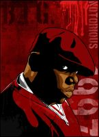 Biggie Vector Red by vikesh87