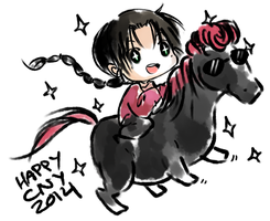 Happy Chinese New Year 2014 by Aetheory