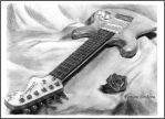 While My Guitar Gently Weeps by Aelroun