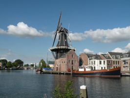windmill de Adriaan by remmy77