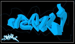 Denizli 3D Graffiti by ShotOne