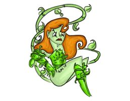 Poison Ivy by pascalscribbles