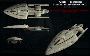 Supernova class ortho - USS Supernova by unusualsuspex