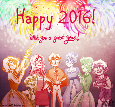 Happeh 2016 8D! by creamcake13