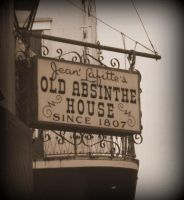 Jean Lafitte's Old Absinthe House by spidermonkeykiss