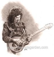 Brian May by Alleycatsgarden